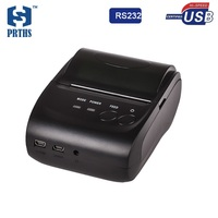 2 inch Mini pos thermal printer with USB RS232 interface small size and light weight design special for bus billing printing