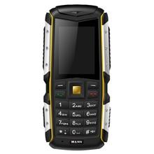 New Original MANN ZUG S Antipoussière Antichoc Étanche Double SIm GSM Réseau GPRS 2.0 pouce Russion clavier Principal Portable