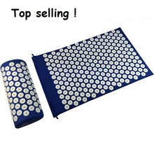 Shipping From Russia Acupuncture Spike Pad Acupressure Mat Foot Massage Mat Yoga Mat Health Care Massage Cusion With Pillow