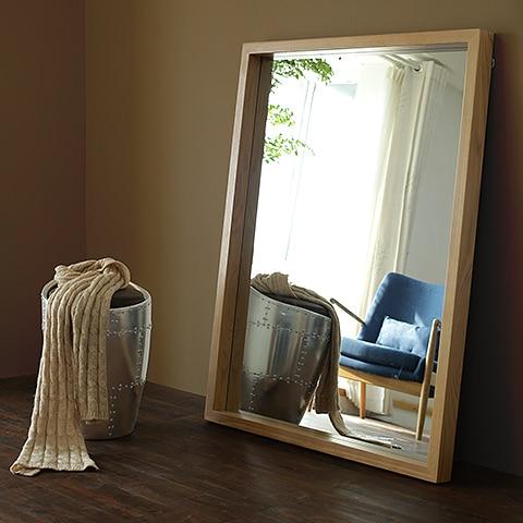 Yidai thuis vloer volledige lengte dressing spiegel slaapkamer muur ...