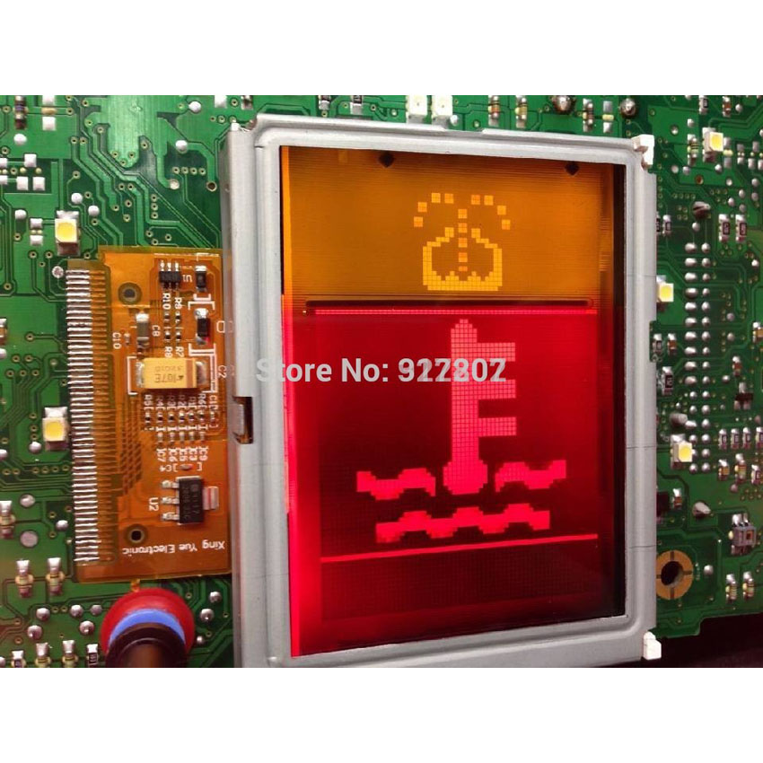 New Replacement LCD Dash Display Screen or Audi A3 A4 A6 VDO LCD Volkswagen Display Auto LCD Display shelf