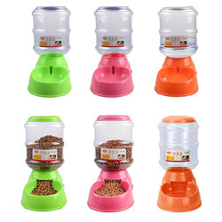 3.5L Pet Automatic Feeder Water Drinking Fountain Cat Dog Intelligent Feeding Vessels Animal Pet Bowl Water Bowl