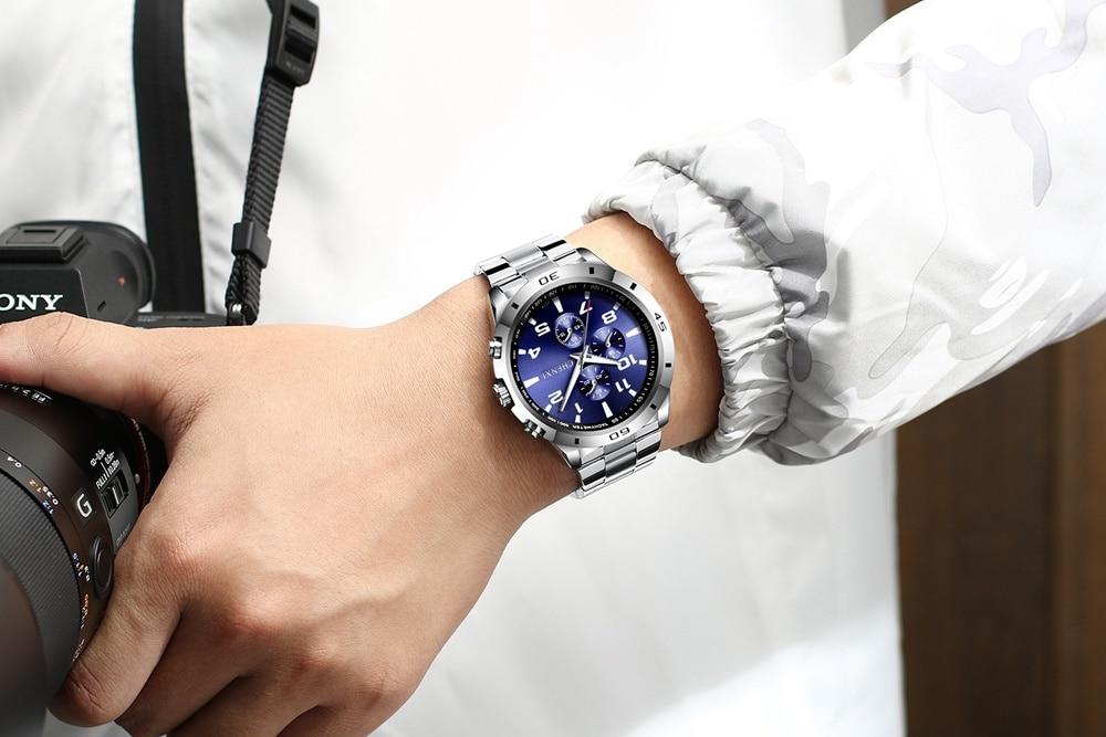 Μόδα Ανδρικά ρολόγια Μοναδικά Κομψά - Ανδρικά ρολόγια - Φωτογραφία 2