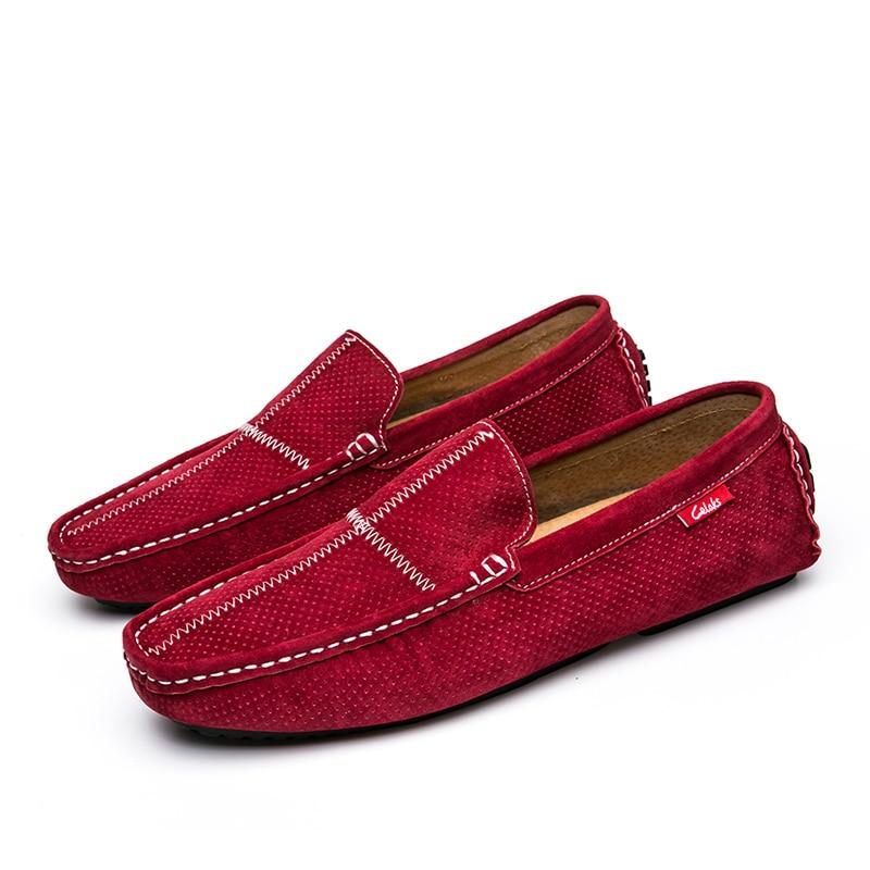 Para Sapatos Barco Camurça Black Dos Men Mocassins Qualidade Men Designer Loafers Vermelhos Italiano Os Jkpudun red gray Men Luxo Alta Couro De Marca Homens Casuais 7q0watUw