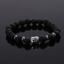 2015 Fashion font b jewelry b font Natural stone buddha beads font b bracelet b font
