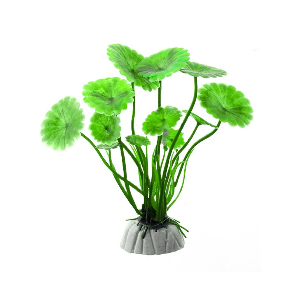 Purple/Green/Red Artificial Aquarium Decorations Plants Fish Tank Grass Flower Ornament Decor Aquarium Landscaping
