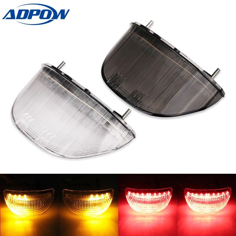 Integrated  Motorcycle Taillight For Honda CBR1000RR 04 05 06 07 CBR 1000 RR CBR 600RR CBR600RR LED Tail Turn Signal Light Lamp