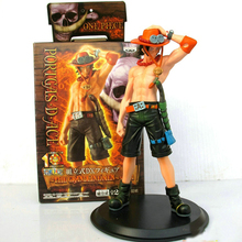 One Piece Monkey.D.Luffy Portagas D Ace Action Figure 2pcs