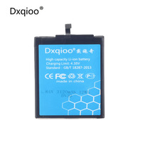 Dxqioo High Quality Mobile Phone Battery Fit For Xiaomi Redmi 4A BN30 3120mah Batteries