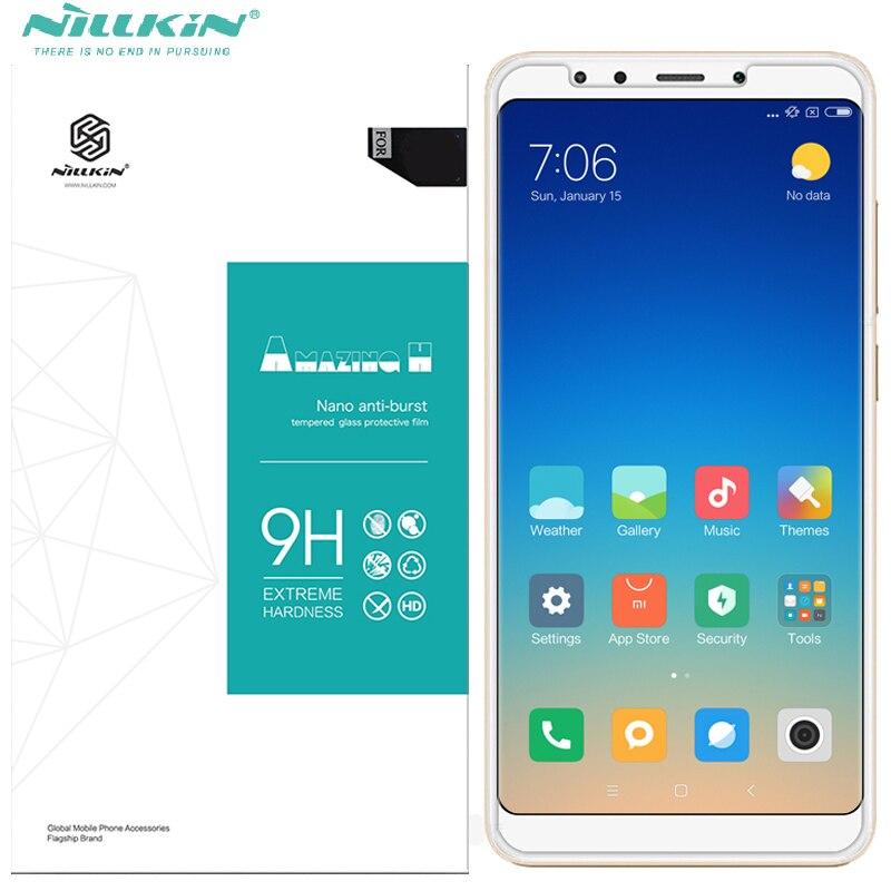 nano glass film for xiaomi redmi 5 plus Nillkin 9H shockproof screen protector for xiaomi redmi 5 redmi5 plus tempered glass