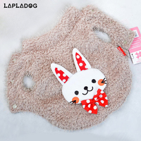 LAPLADOG Hot Sale Winter Clothing For Dogs Cute Cotton Puppy Jacket Linen Pet Dog Coat Overcoat