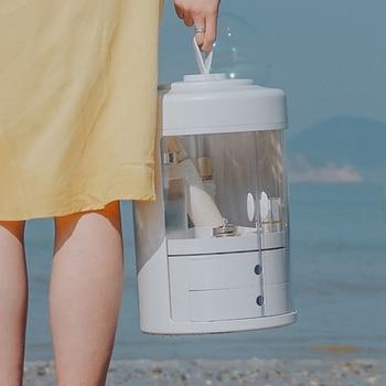 Wasserdichte Aufbewahrungsboxen | Wasserdicht Make-Up Organizer Acryl Kosmetische Lagerung Box Abnehmbare Desktop Organizer Transparent Schublade Beauty Boxen