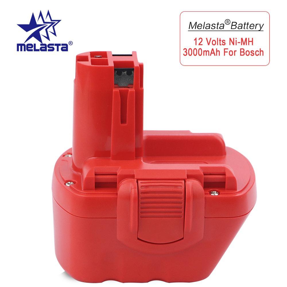 Batterie Melasta 12 V 3000 mAh NiMH pour Bosch BAT043 BAT045 BAT046 BAT049 BAT120 BAT139 GSR 12 V GLI 12 V GSB GSR PSR 12 12VEBatterie Melasta 12 V 3000 mAh NiMH pour Bosch BAT043 BAT045 BAT046 BAT049 BAT120 BAT139 GSR 12 V GLI 12 V GSB GSR PSR 12 12VE