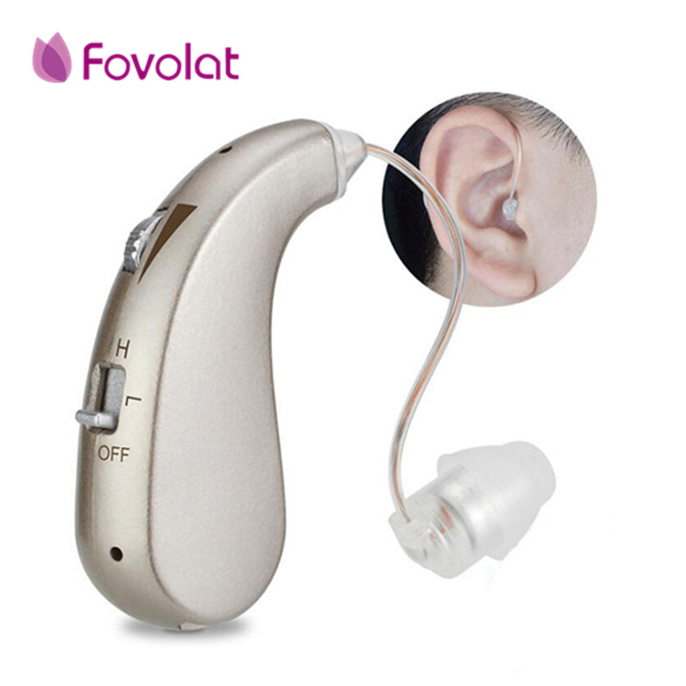 Portable Mini Digital Rechargeable Hearing Aid Sound Amplifier for Better Hearing Ear Listening Assistance Ear Care