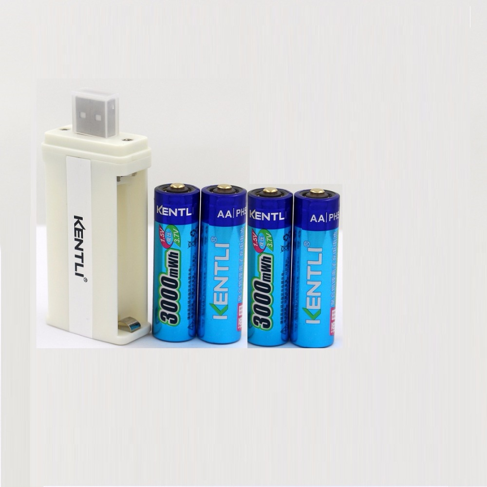 4pcs/lot 3000mWh AA battery 1.5V AA rechargeable battery camera battery lithium polymer battery huasheng technology supply 453 450 453 450 polymer lithium polymer battery rechargeable lithium battery