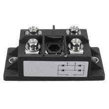 1ピース新しい到着ブラック150a amp 1600ボルトMDQ150A単相ダイオードブリッジ整流電源モジュール