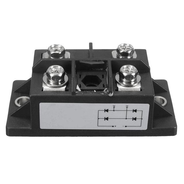 1 ADET Yeni Varış Siyah 150A Amp 1600 V MDQ150A Tek Fazlı diyot köprüsü doğrultucu Güç Modülü
