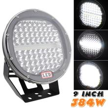 Ultra Bright 9 Inch 378W Offroad LED Work Light Bar for 4WD 4x4 Off Road SUV ATV Truck Car Lamp Boat