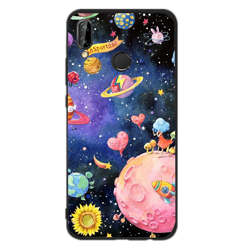 Cases For Huawei P20 Lite Phone Cover For Huawei P20 Lite Mate 10 Lite P Smart Funny Cat Back Case Silicone Cover Fundas
