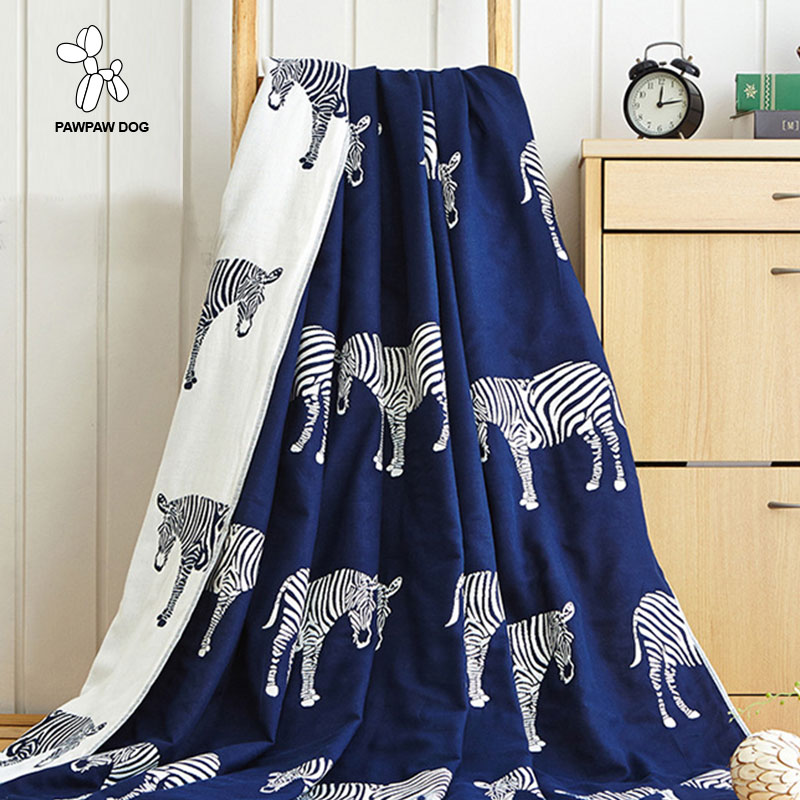 A Blanket For Beds Manta Plaids Sofa Couch Zebra Printed Cobertor Summer Throw Blankets and Bedspreads of Cotton For AdultsA Blanket For Beds Manta Plaids Sofa Couch Zebra Printed Cobertor Summer Throw Blankets and Bedspreads of Cotton For Adults