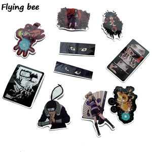 Image 5 - Flyingbee 70 Pcs Anime boy 일본 낙서 스티커 아이들을위한 DIY 수화물 휴대용 퍼스널 컴퓨터 스케이트 보드 차 방수 스티커 X0214