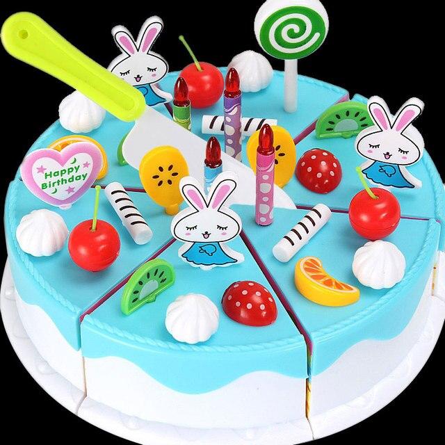 nep taart Plastic Simulatie Nep Taart Snijden Speelgoed Puzzel  nep taart
