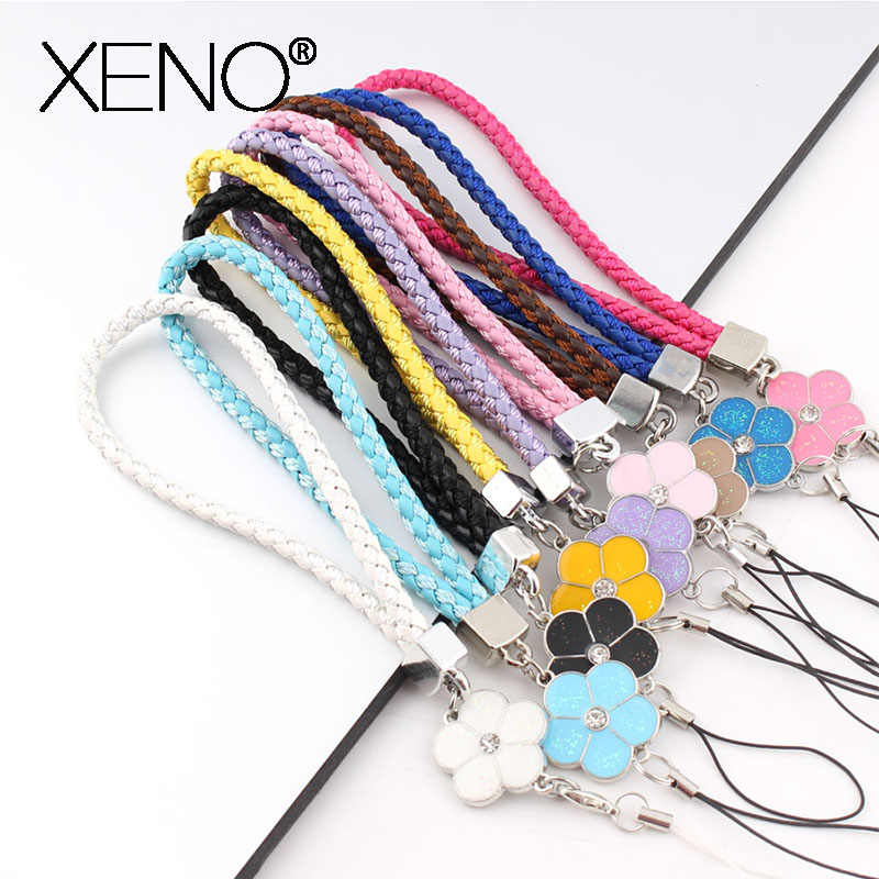 lanyard for keys Mobile Phone accessories Straps Rhinestone Beaded Smart Phone Key Ring Holder Lanyard neck strap Cord Hand Rope