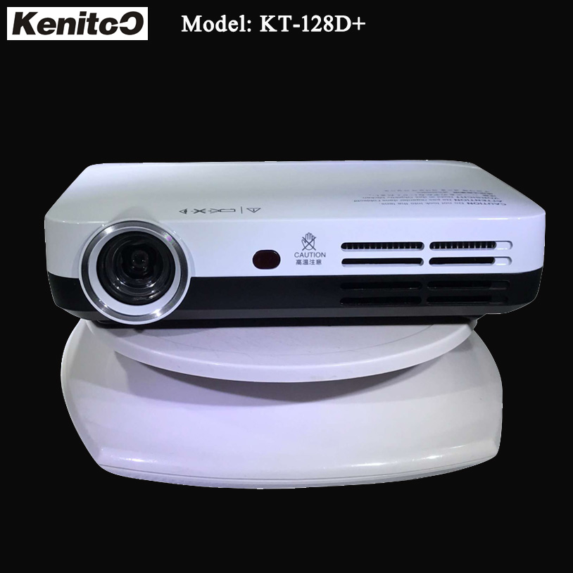 Kenitoo HD DLP Projector 1280*800 Smart Android Home 3D Projector Support Bluetooth/Wireless Wi-Fi/Cross Screen Games 4K Beamer диск алмазный bosch 150х22 2мм professional for universal 2 608 602 193