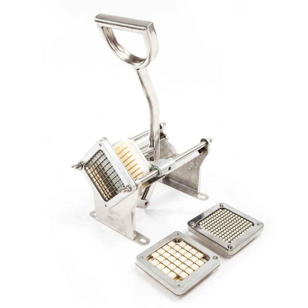 Découpeuse horizontale de pommes de terre de Machine de coupe de bande de friture d'acier inoxydable