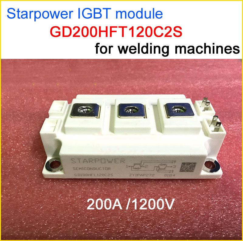 Best quality GD200HFT120C2S IGBT module 200A 1200V accessories for inverter welding machine free shipping 1pcs lot 6mbi20gs 060 module igbt best quality