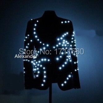 LED-lysande västerländska kläder för prestanda / affärsdräkt / ljusdräkter / ljus med lysdioder