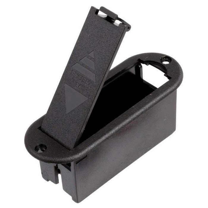 9V Battery Holder Case for Active Guitar Bass Pickup