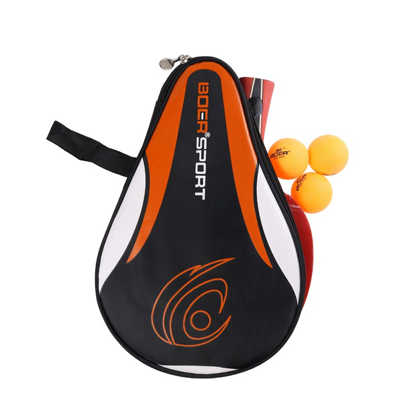 Portable Table Tennis Racket Set Table Tennis Sports Bag Hoist Racket Pingpang Racket Bag
