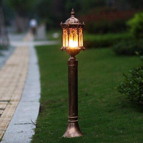 lampada do gramado ao ar livre moda