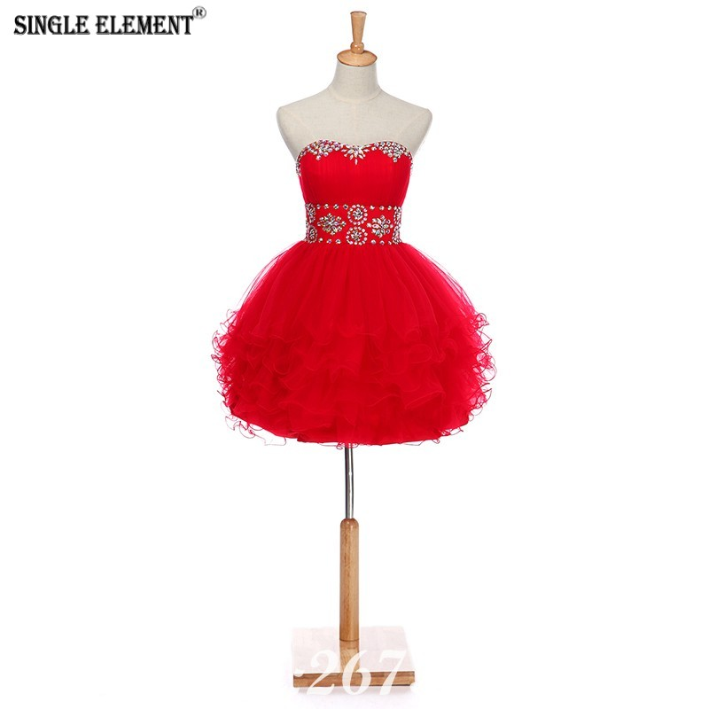SINGLE ELEMENT Ball Prom Dresses 2019 Homecoming Party Dresses in Prom Dresses from Weddings Events
