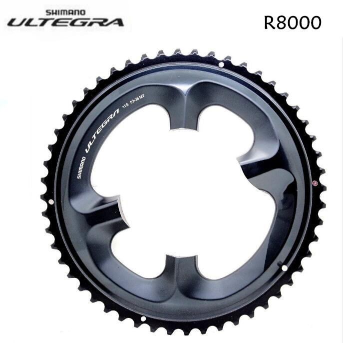 Shimano Ultegra R8000 53t 110mm 11-Speed Chainring for 39//53t