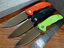 New sale Efeng 2016 new design F3 Bearing system D2 Floding knife G10 handle outdoor survival hunting camping tool Knife