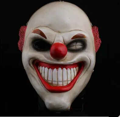 pay day 2 mask funny clown mask masquerade party mask halloween mask