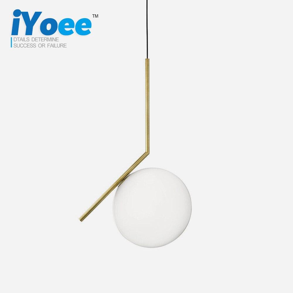 Modern glass ball led pendant light home light lamp <font><b>ceiling</b></font> fan for kids bedroom light hanging lamp vintage lamp night light
