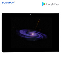 10.1'' PC Tablet 2.5D Tempered Glass Android 8.0 Octa Core 32GB Mobile SIM Card Phone 3G Call IPS LCD Display Computer +Cover