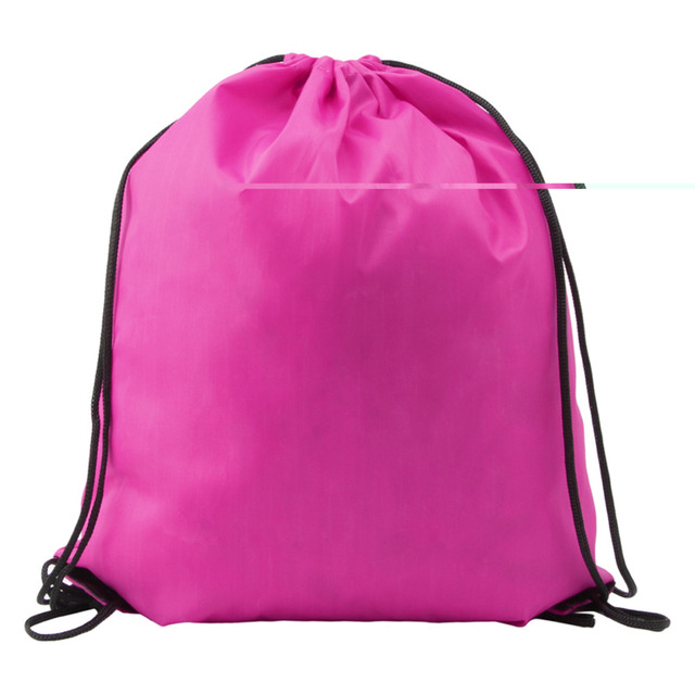 1Pc Hiking Backpacks Kids  Clothes Shoes Backpack Swimwear Bag School  Drawstring Book Sport Gym Lunch bag and More caf620e1db93e