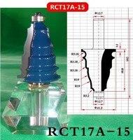 תעשיית עץ קרביד באיכות דפוס צורת קו עבודה נתב קאטר Bits V Groove (RCT17A 15-בכרסם מתוך כלים באתר