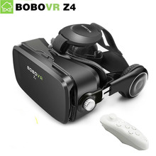 Orignal BOBOVR Z4 3D VR Glasses Virtual Reality Glasses Cardboard VR Headset bobovr z4 mini Headphone for 4.7-6.0 inch phone