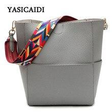 Luxus-handtaschenfrauen-designer Marke Berühmte Umhängetasche Weibliche Vintage Umhängetasche Pu-leder Grau Crossbody Umhängetaschen