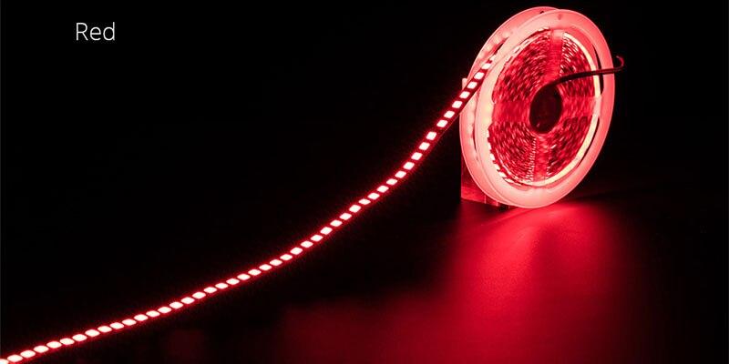HTB1ZSYDaAT2gK0jSZPcq6AKkpXaY LED Strip Light diode LED light tape backlight 12V 5m 600 LED 5054 IP67 waterproof white warm white