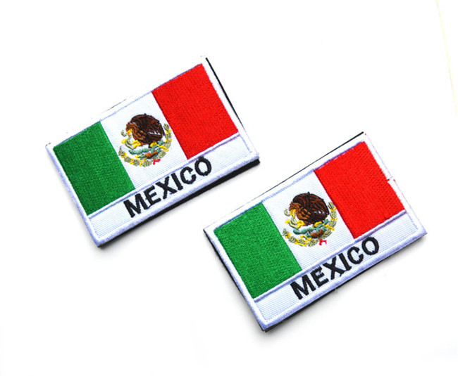 Mexico Flag Tactical Patch