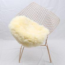 Muzzi мягкий коврик из овчины для ковров нескользящий чехол