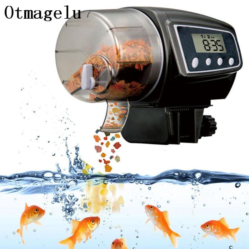 Automatic Fish Feeder for Aquarium Fish Tank Auto Feeder with Timer Pet Feeding Dispenser Fish Shrimp Betta Goldfish Food Feeder5
