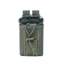 1000D Nylon Tactical Pouch Outdoor Magazine Mag Pouch Pocket Sports Pendant Military Molle Radio Walkie Talkie Holder Bag все цены