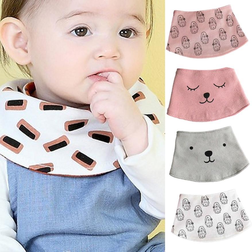 Baby Bib вещи Детские Полотенца шарф кормления халат нагрудники Отрыжка Полотна 2018